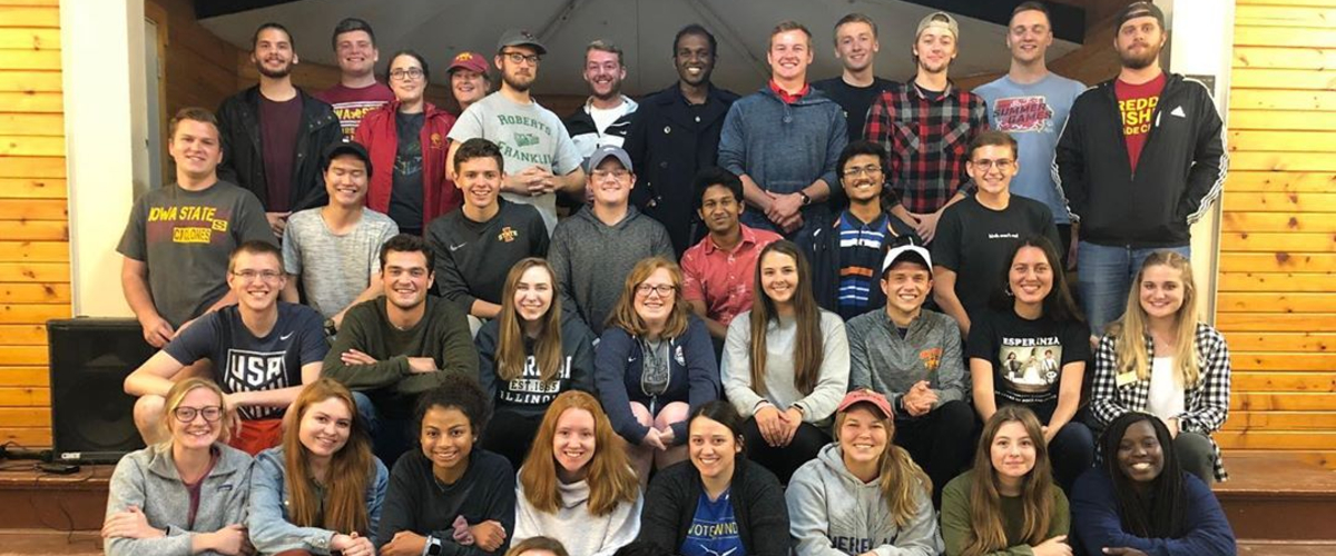 Student Government Retreat Picture