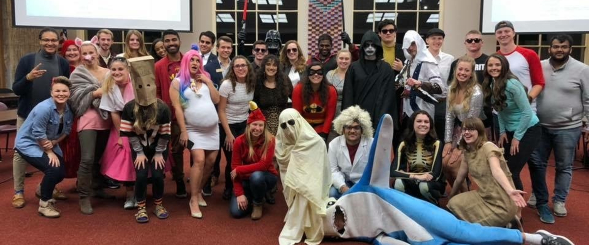 Student Government outfits for Halloween!