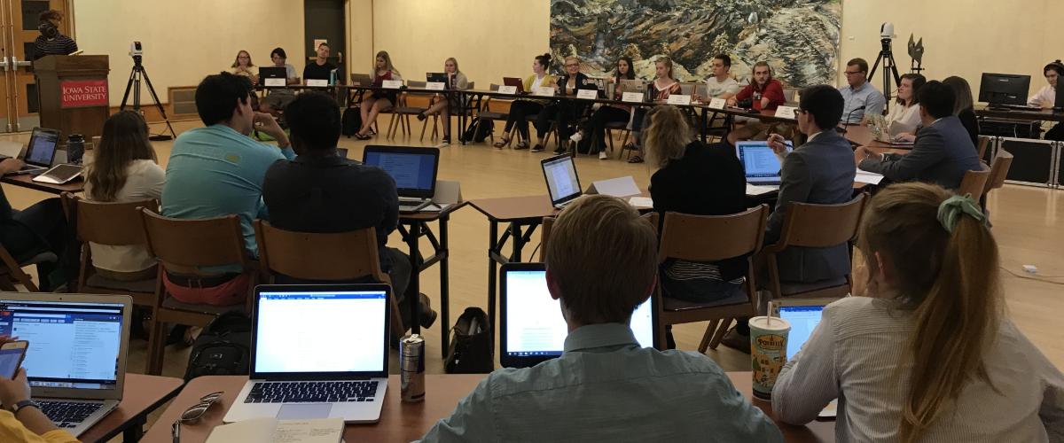 Senate Meeting