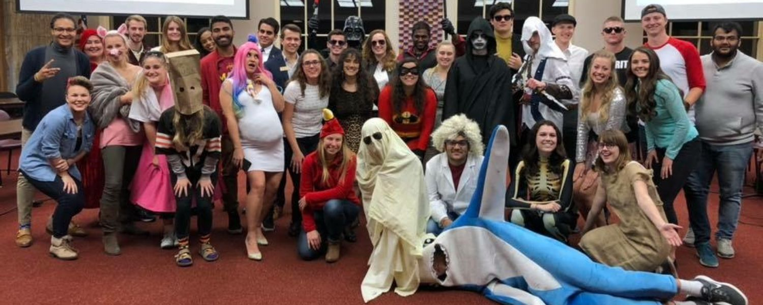 Student Government on Halloween!