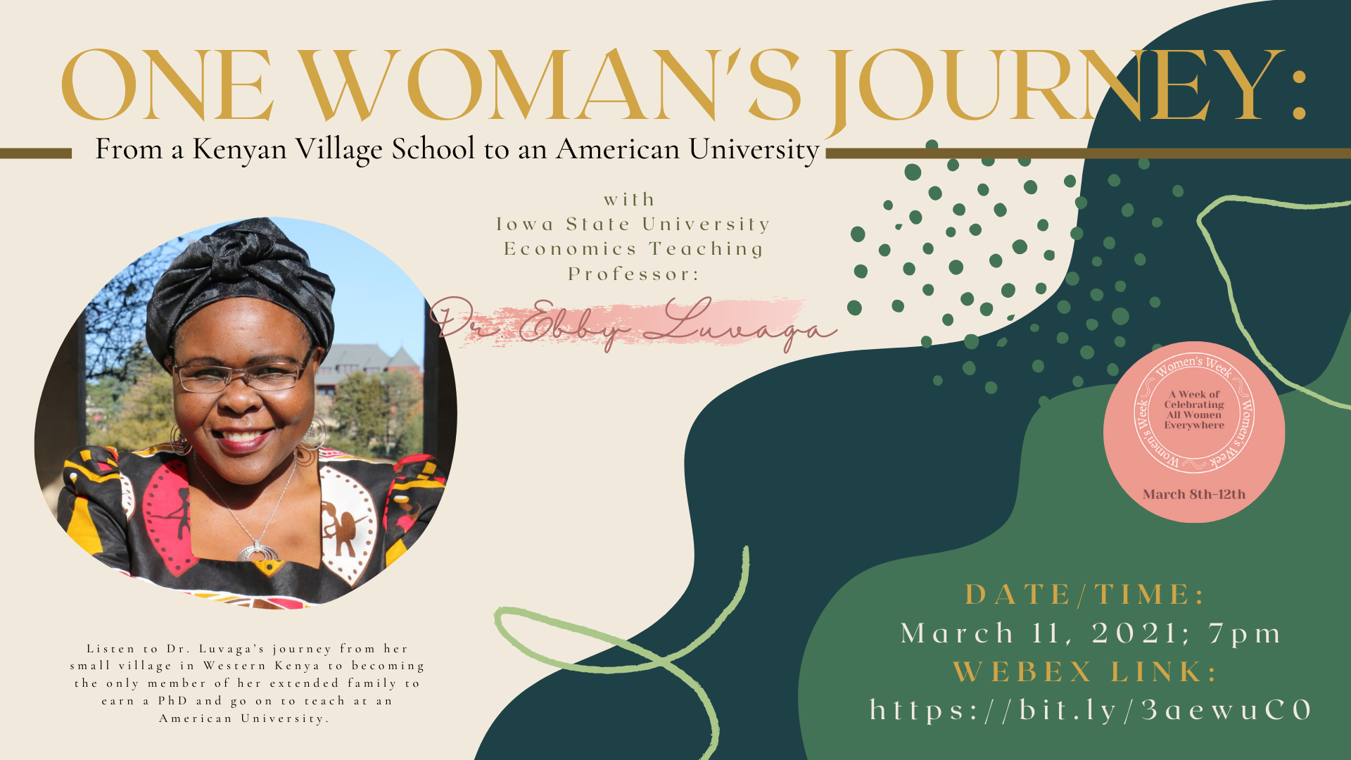 One Woman's Journey: From a Kenyan Village School to an American University